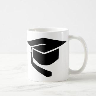 Taza De Café Gorra de la graduación