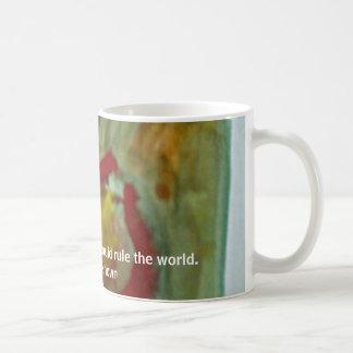 Taza De Café Gota del café, dada bastante café, podría