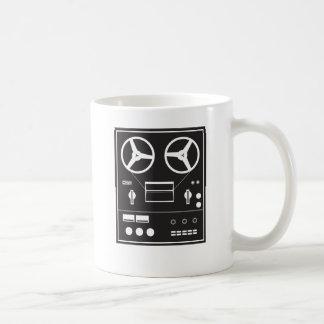 Taza De Café grabadora del carrete