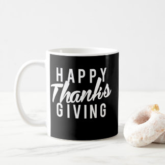 Taza De Café Gracias felices agradables que dan la impresión