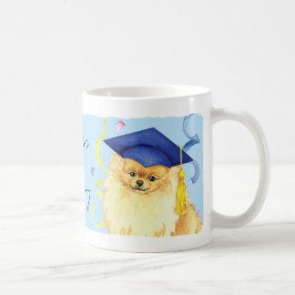 Taza De Café Graduado de Pomeranian