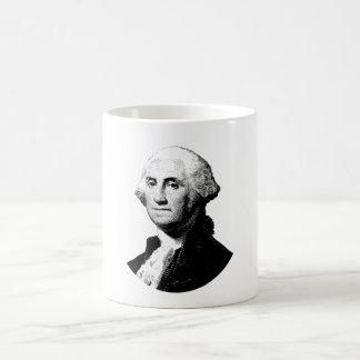 Taza De Café Gráfico de presidente George Washington