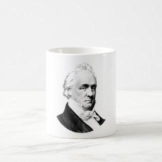 Taza De Café Gráfico de presidente James Buchanan