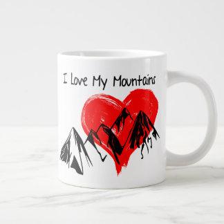 Taza De Café Grande ¡Amo mis montañas!
