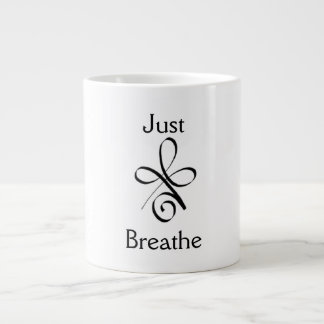 Taza De Café Grande Apenas respire