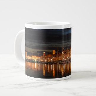 Taza De Café Grande Asalte el puerto enorme de Marsella - de Le vieux