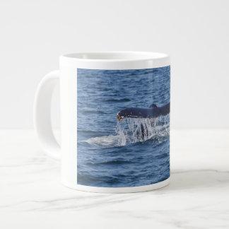 Taza De Café Grande Cola de la ballena
