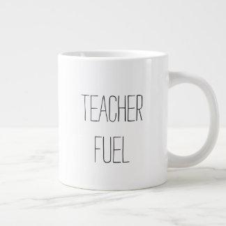 Taza De Café Grande Combustible del profesor