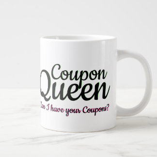 Taza De Café Grande Cupones extremas de la necesidad del ahorro de la