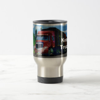 Taza de café grande del camión del cargo del apare