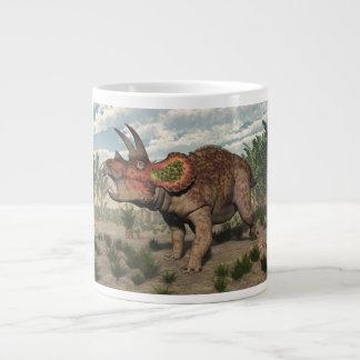 Taza De Café Grande Dinosaurio del Triceratops - 3D rinden
