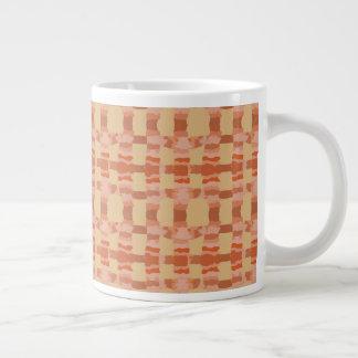 Taza De Café Grande Enrejado del desierto