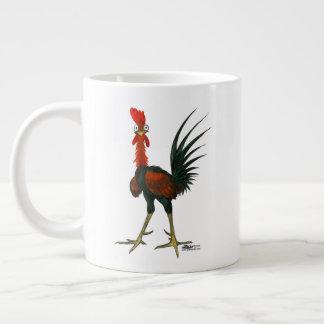 Taza De Café Grande Gallo loco