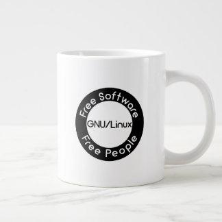 Taza De Café Grande GNU/Linux