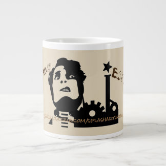 """Taza De Café Grande """"Hombre maniaco de la mañana """""""