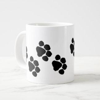 Taza De Café Grande Impresiones animales de la pata