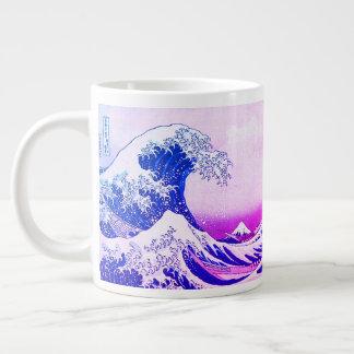 Taza De Café Grande La gran onda de Kanagawa