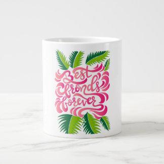 Taza De Café Grande Las mejores frondas