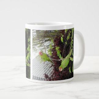Taza De Café Grande Loros salvajes de la colina del telégrafo