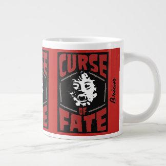 Taza De Café Grande Maldición de la B-Película del sino