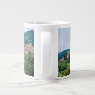 Taza De Café Grande Montañas y chapiteles de los prados de Roxborough