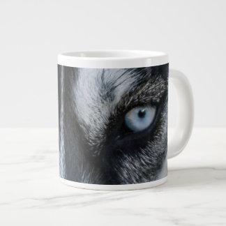 Taza De Café Grande Ojos del husky siberiano