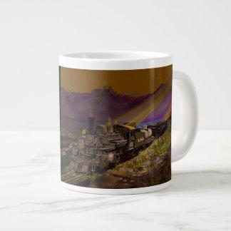 Taza De Café Grande Oro del Rio Grande