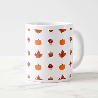 Taza De Café Grande Otoño