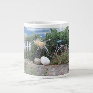 Taza De Café Grande Paseo de la bicicleta de la diversión