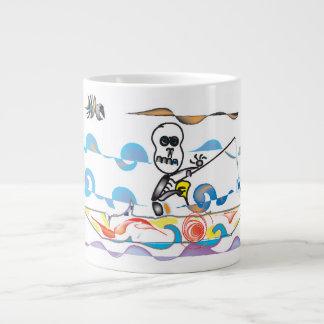 Taza De Café Grande Pescador esquelético