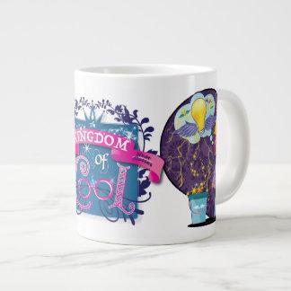 Taza De Café Grande Princesa de la ingeniería