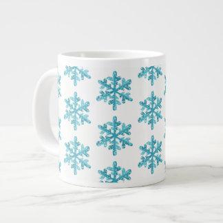 Taza De Café Grande Taza-Copos de nieve enormes