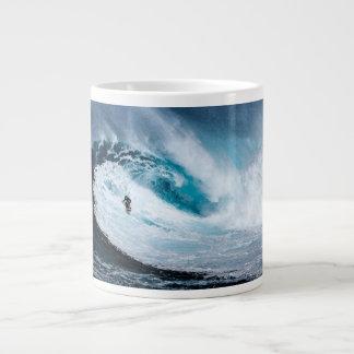 Taza De Café Grande Viva para practicar surf - practique surf a la