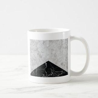 Taza De Café Granito concreto #844 del negro de la flecha