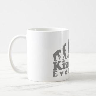 Taza De Café gris de los pares del kizomba