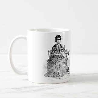 Taza De Café Guarde en la costura…