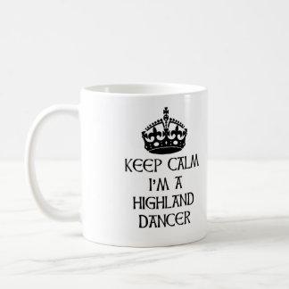 Taza De Café Guarde la calma que soy bailarín de la montaña