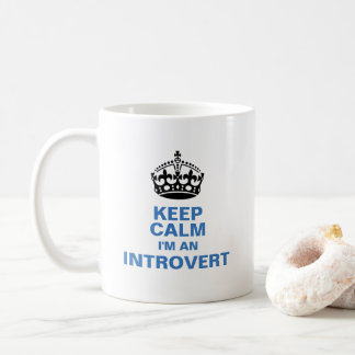 Taza De Café Guarde la calma que soy un introvertido
