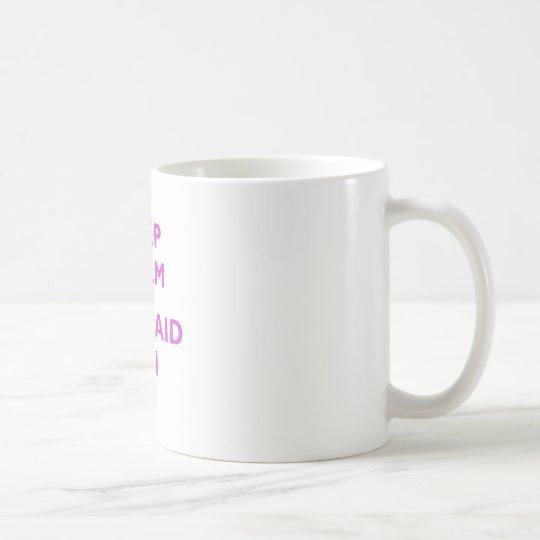 Taza De Café Guarde la calma y la sirena encendido