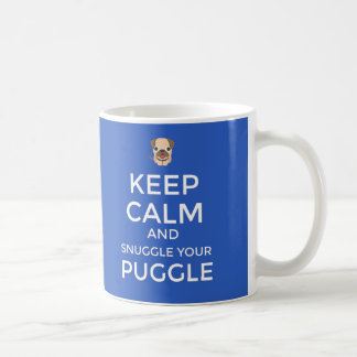 Taza De Café ¡Guarde la calma y Snuggle su personalizable de la