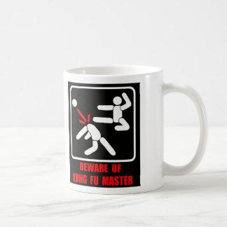 Taza De Café Guárdese del amo de Kung Fu
