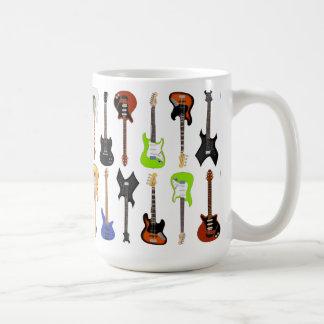 Taza De Café Guitarras