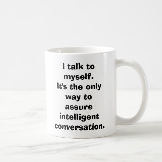 Taza De Café Hablo conmigo mismo