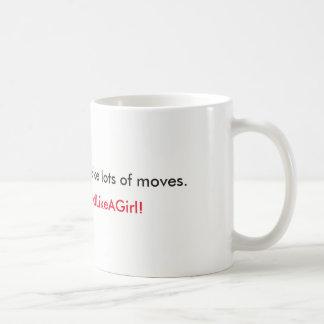 Taza De Café Haga su movimiento