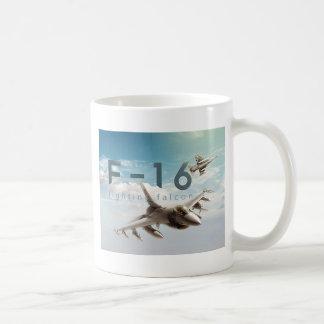 Taza De Café Halcón que lucha F-16