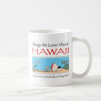 Taza De Café Hawaii por Harrop-T-b