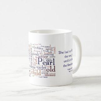 Taza De Café Hawthorne - las palabras y la cita de la letra