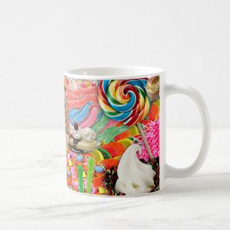 Taza De Café Helado dulce estupendo del caramelo divertido
