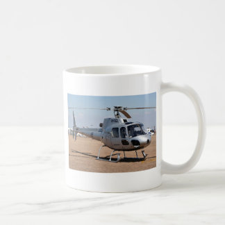 Taza De Café Helicóptero (plata)