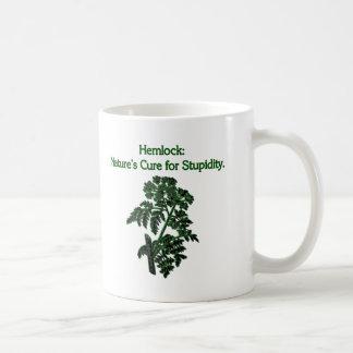 Taza De Café Hemlock: Curación para la estupidez